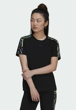 adidas Originals - REGULAR TEE - T-Shirt print - black