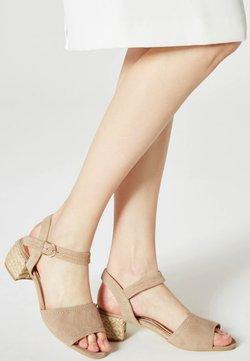 DreiMaster - Sandalen - beige