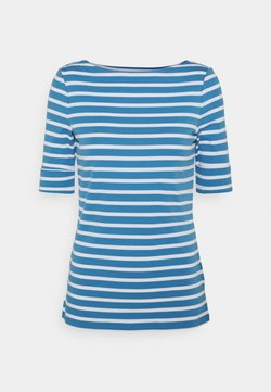 Lauren Ralph Lauren - T-Shirt print - captain blue/white