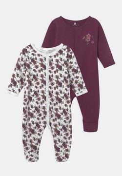Name it - NBFNIGHTSUIT 2PACK - Pijama de bebé - prune purple