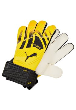 Puma - ONE GRIP - Torwarthandschuh - ultra yellow/black/white