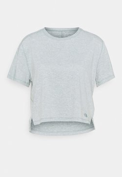 The North Face - DAWNDREAM RELAXED - T-shirt basic - silver blue heather