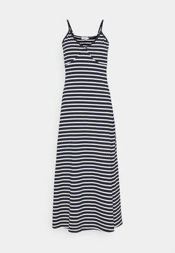 Molly Bracken - YOUNG DRESS - Vestido largo - white/navy