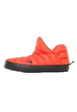 The North Face - M TB TRACTION BOOTIE SHINY BLA - Śniegowce - flare/tnf black