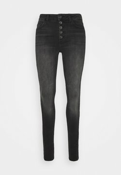 ONLY Tall - ONLBLUSH LIFE  - Jeansy Skinny Fit - black denim