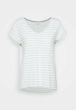 Esprit - SLUB - T-Shirt print - light aqua green