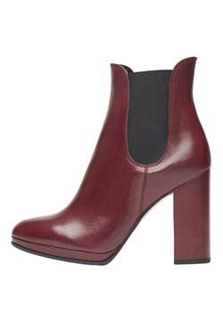 PoiLei - High Heel Stiefelette - bordeaux