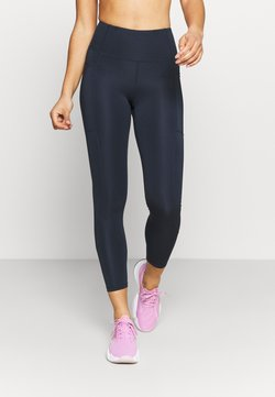 Cotton On Body - LIFESTYLE POCKET - Tights - navy laser