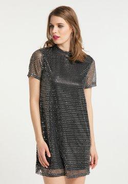 faina - ABEND - Cocktailkleid/festliches Kleid - schwarz silber