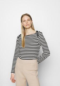Anna Field - Langarmshirt - black/white