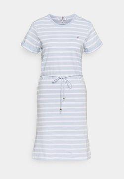 Tommy Hilfiger - COOL SHIFT SHORT DRESS  - Jerseykleid - blue