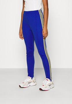 adidas Originals - 70S PANT - Legging - active gold/team royal blue