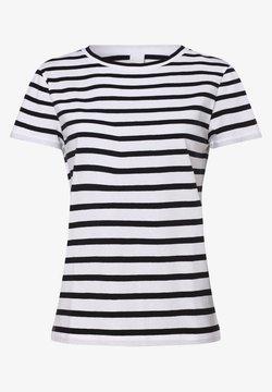 BOSS - T-Shirt print - marine ecru