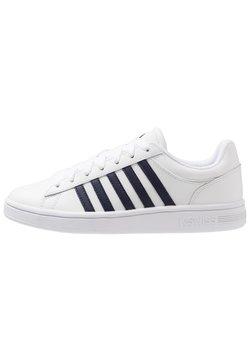 K-SWISS - COURT WINSTON - Sneaker low - white/navy