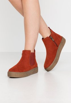 Marco Tozzi - Ankle Boot - brick