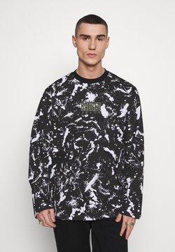 The Ragged Priest - SPLAT TEE - T-Shirt print - black/white