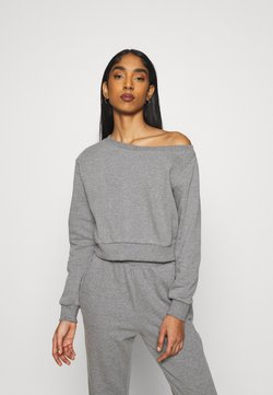 Even&Odd - SET - Sweatshirt - mottled grey