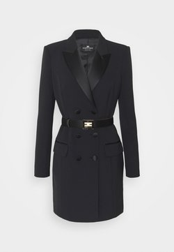 Elisabetta Franchi - WOMEN'S DRESS WITH BELT - Shift dress - black