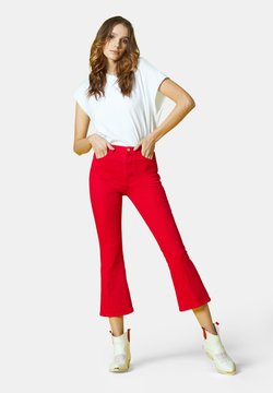 Manila Grace - Jeans bootcut - rosso
