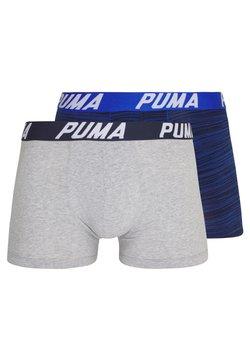 Puma - SPACEDYE STRIPE BOXER 2 PACK - Shorty - blue combo