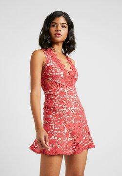 Love Triangle - DANUBE MINI DRESS - Cocktailkleid/festliches Kleid - brick red