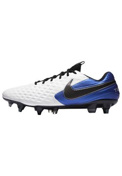 Nike Performance - TIEMPO LEGEND 8 ELITE SG-PRO AC - Fotbolsskor skruvdobbar - white/hyper royal/metallic silver/black