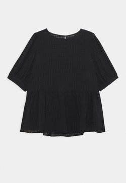 Forever New Curve - TEXTURED SMOCK  - Camicetta - black