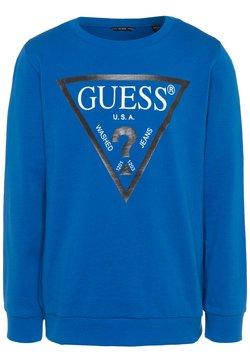 Guess - JUNIOR CORE - Sweatshirt - blue romance