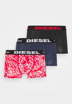 Diesel - DAMIEN 3 PACK - Panties - black/blue/red/white