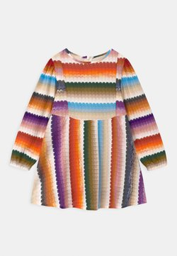 Missoni Kids - MANICA LUNGA CON TAGLI - Strickkleid - multi-coloured