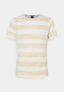 Jack & Jones - JORSUNNY STRIPE TEE CREW NECK - T-Shirt print - sahara sun