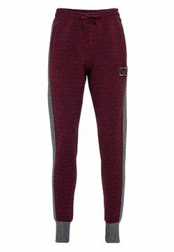 Cipo & Baxx - Jogginghose - burgundy-grey