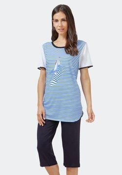 hajo Polo & Sportswear - Nachtwäsche Shirt - blau
