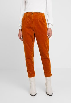 Nümph - MEGHAN PANTS - Trousers - sudan brown