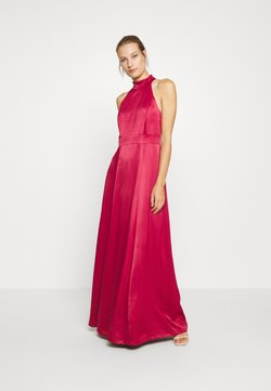 IVY & OAK - LONG NECKHOLDER DRESS - Suknia balowa - cassis sorbet