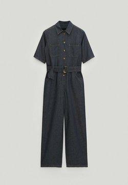 Massimo Dutti - Jumpsuit - dark blue