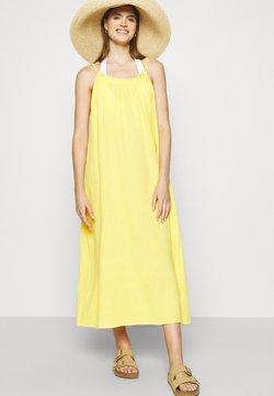 Seafolly - ART HOUSE SOLEIL DOUBLE CLOTH DRESS - Beach accessory - daffodil
