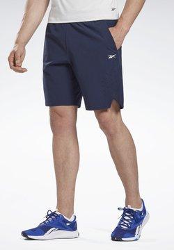 Reebok - LES MILLS® 9-INCH EPIC SHORTS - Pantalón corto de deporte - blue