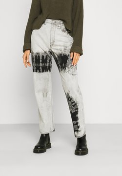 Weekday - ROWE ECHO - Jeans baggy - black/white