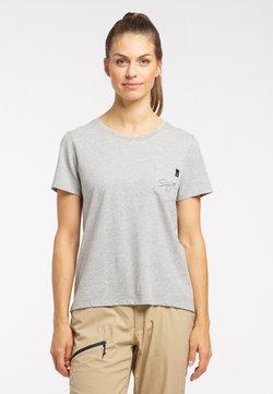 Haglöfs - T-Shirt print - grey melange