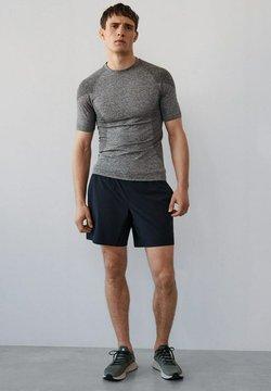 Mango - T-Shirt print - gris