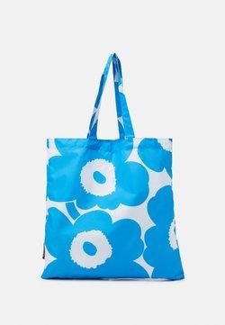 Marimekko - KIOSKI LOPULTA PIENI UNIKKO - Shopping bag - blue/white