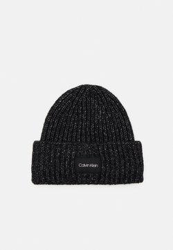 Calvin Klein - BEANIE - Mütze - black