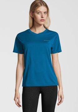 Endurance - VISTA - T-Shirt basic - mykonos blue