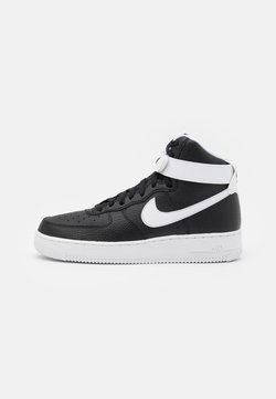 Nike Sportswear - AIR FORCE 1 HIGH '07  - Sneaker high - black/white
