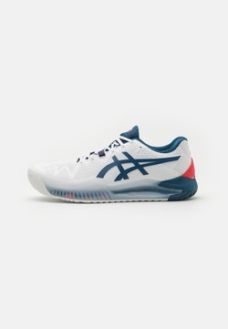 ASICS - GEL RESOLUTION 8 - Zapatillas de tenis para todas las superficies - white/mako blue