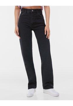 Bershka - Straight leg jeans - black