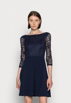 Anna Field - QUARTER SLEEVES OCCASION MINI DRESS - Cocktailkleid/festliches Kleid - dark blue