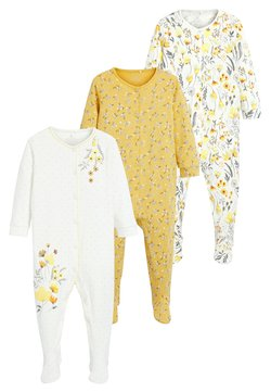 Next - 3 PACK - Pyjama - yellow