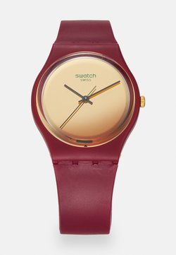 Swatch - GOLDENSHIJIAN - Montre - burgundy